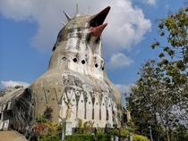 Abandoned chicken church - Indonesia