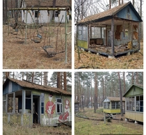 Abandoned Childrens Summer Camp Located Between Pripyat amp Chernobyl