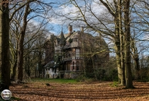 Abandoned Chteau Nottebohm in Belgium