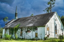 abandoned church at Floridas infamous Dozier School for Boys