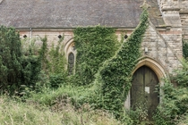Abandoned church in Aisthorpe Lincolnshire
