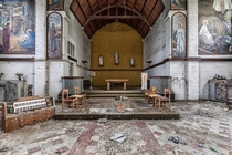 Abandoned church in Belgium
