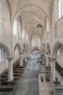 Abandoned Church in Belgium  by Johan de Cocq