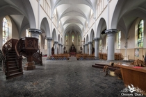 Abandoned Church in Belgium - Demolition started December