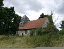 Abandoned church in Boveney on the banks of the River Thames  x