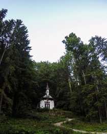 Abandoned church in forest - Slovakia