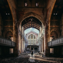 Abandoned church in Gary IN  by Brandon Sharpe