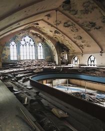 Abandoned Church in Halifax NS