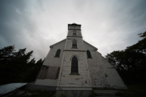 Abandoned church in Newfoundland
