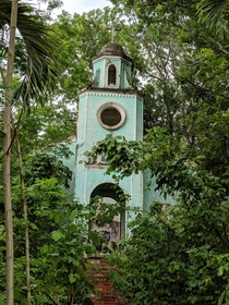 Abandoned church in Puerto Rico