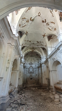 Abandoned Church In Sicily