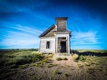 Abandoned church in southeastern New Mexico