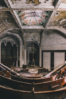 Abandoned church in the rust belt