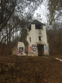 Abandoned church located in Daniels Maryland