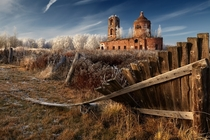 Abandoned church near Novgorod Russia est   Photo by eger Roman