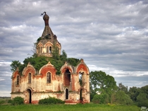 Abandoned church near Tver Russia