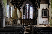 Abandoned Church - Penzance Cornwall