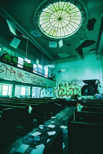 Abandoned Church South Central LA