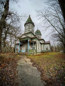 Abandoned Church which provided the inspiration for the church featured in the All Ghillied Up mission in Call of Duty  Modern Warfare Chernobyl Exclusion Zone Ukraine
