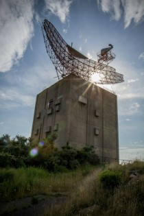 Abandoned CIA radar tower Montauk Long Island NY