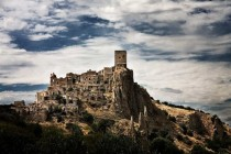 Abandoned city of Craco Italy  x