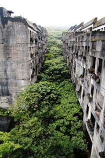 Abandoned city of Keelung Taiwan