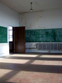 Abandoned Classroom Boston MA