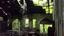 Abandoned coal mine powerplant West Virginia