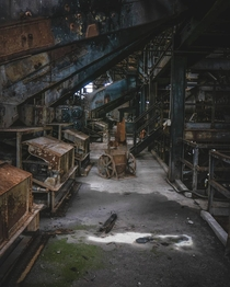 Abandoned Coal Processing Plant