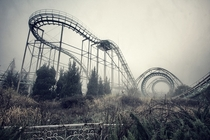 Abandoned coaster at Nara Dreamland in Japan X