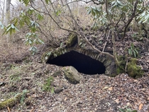 Abandoned coke oven Pocahontas trail Hatfield McCoy trails WV