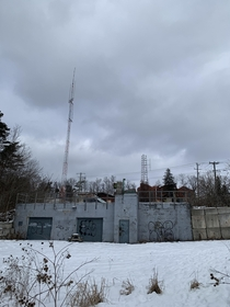 Abandoned  Cold War bunker in Ontario Canada Our Non Profit is trying to save it from demolition More history about it on our petition page please help by signing httpswwwchangeorgwaterloobunker