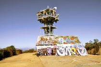 Abandoned Cold War-Era Microwave Tower Los Angeles California OC  Album inside