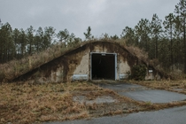 Abandoned Cold War nuclear storage bunker Florida