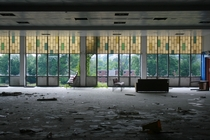 Abandoned College Cafeteria