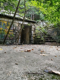 Abandoned Communist Natural Tribune from the s for   in Brno Czech Republic