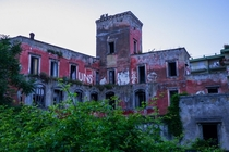 Abandoned complex southern Italy
