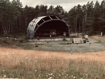 Abandoned concert venue in Hove Norway