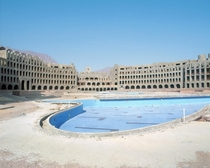 Abandoned construction site of a hotel in Egypt Photos by HaubitzampZoche
