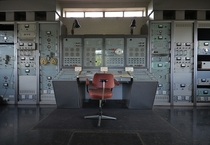 Abandoned control room of a astronomy observatory UK