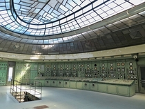 Abandoned control room somewhere in Hungary