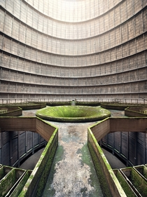 Abandoned Cooling Tower by Jan Stel