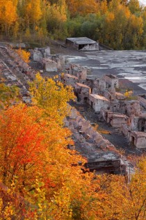 Abandoned Copper Refinery  Freda MI