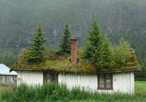 Abandoned cottage in Norway