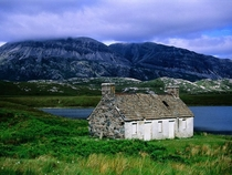 Abandoned Cottage - Sutherland Scotland
