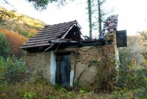Abandoned cottage Zumberak Croatia