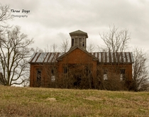 Abandoned country school in Illinois