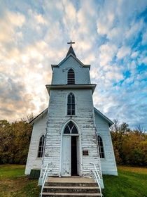 Abandoned Countryside Church