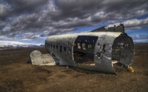 Abandoned crashed US Navy DC- in Iceland