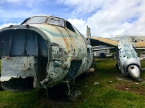 Abandoned Cubana Airliner Grenada West Indies